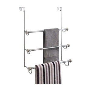 最好的毛巾吧选项:淋浴门毛巾架上的Idesign York