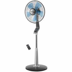 The Best Bedroom Fan Option: Rowenta VU5670 Turbo Silence Oscillating Fan