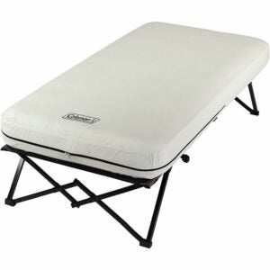 The Best Camping Air Mattress Options: Coleman Camping Cot, Air Mattress, and Pump Combo