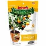 The Best Citrus Fertilizer Options: Jobe's Organics Fruit & Citrus Fertilizer, 6 Spikes
