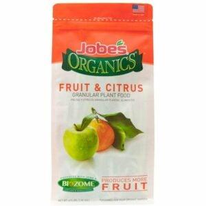 The Best Citrus Fertilizer Options: Jobe's Organics Fruit & Citrus Fertilizer Biozome