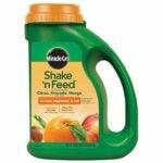 The Best Citrus Fertilizer Options: Miracle-Gro 1048291 Citrus, Avocado, Mango