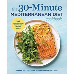 最佳烹饪书籍选择:30分钟地中海饮食烹饪书