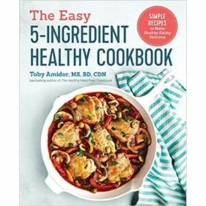 最好的烹饪书选择:简单的五种成分的健康烹饪书