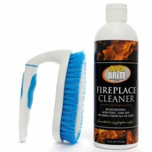 The Best Creosote Remover Options: Quick N Brite Fireplace Cleaner with Cleaning Brush