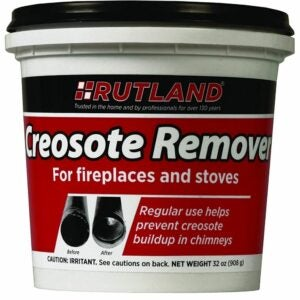 The Best Creosote Remover Options: Rutland Products 2 lb Creosote Remover
