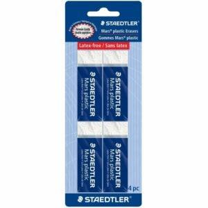 The Best Eraser Options: STAEDTLER Mars Plastic, Premium Quality Vinyl Eraser