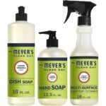 The Best Essential Oils For Cleaning Options: Mrs. Meyer's Clean Day Kitchen Basics Set, Lemon