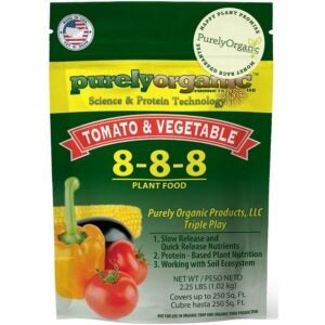 The Best Fertilizer For Peppers Options: Purely Organic Products Tomato &Vegetable Plant Food