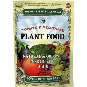 The Best Fertilizer For Peppers Options: The Old Farmer's Almanac Organic Tomato & Vegetable