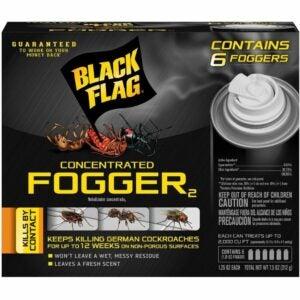 The Best Flea Fogger Options: Black Flag 11079 HG-11079 6 Count Indoor Fogger