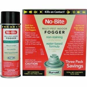 The Best Flea Fogger Options: Durvet 011-1135 No-Bite Multi-Pest Indoor Fogger