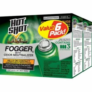 The Best Flea Fogger Options: Hot Shot Fogger6 Insect Killer with Odor Neutralizer
