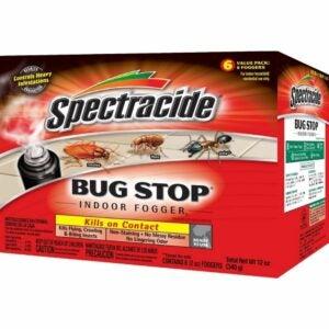 The Best Flea Fogger Options: Spectracide 100046128 Bug Stop Indoor Fogger