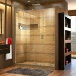 最好的无框淋浴门选项:Dreamline Mirage-x 56-60英寸w x 72。H无框