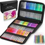 The Best Gel Pens For Coloring Options: Soucolor Gel Pens for Adult Coloring Books, 122 Pack