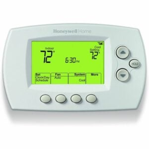 The Best Home Thermostat Options: Honeywell Home Wi-Fi 7-Day Thermostat (RTH6580WF)