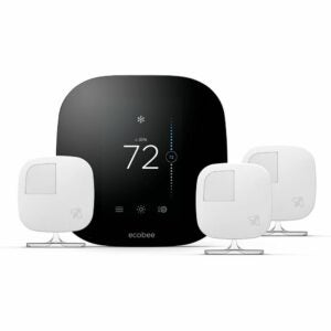 The Best Home Thermostat Options: ecobee3 Smart Thermostat & 3 Room Sensors
