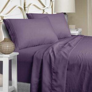 最好的低过敏性床单选项:Mejoroom床单套装,超柔软奢华