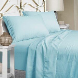 最好的低过敏性纸张选项:Mejoroom全床单套装