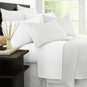 最佳低过敏床单选择:禅竹豪华1500系列床单