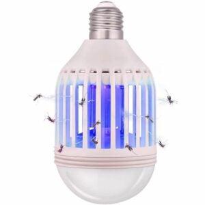 The Best Indoor Bug Zapper Options: COKIT Bug Zapper Light Bulb 2 in 1, Mosquito Killer
