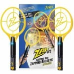 The Best Indoor Bug Zapper Options: Zap It Bug Zapper Twin-Pack Rechargeable Racket