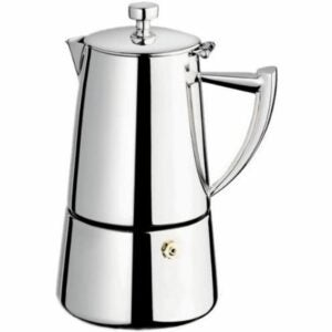 The Best Moka Pot Options: Cuisinox Roma 10-Cup Stainless Steel Moka Espresso