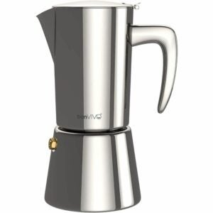 The Best Moka Pot Options: bonVIVO Intenca Stovetop Espresso Maker