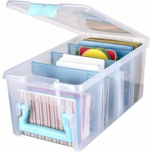 The Best Photo Storage Boxes Options: ArtBin 6925AA Semi Satchel with Removable Dividers