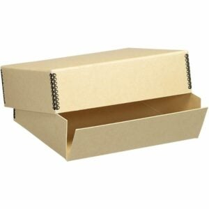The Best Photo Storage Boxes Options: Lineco 8.5x11 Museum Storage Box with Removable Lid