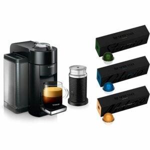 The Best Pod Coffee Maker Options: Nespresso Vertuo Coffee and Espresso Machine Bundle