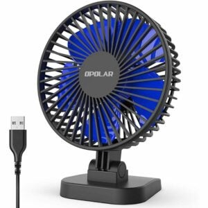 The Best Portable Fan Option: OPOLAR USB Desk Fan