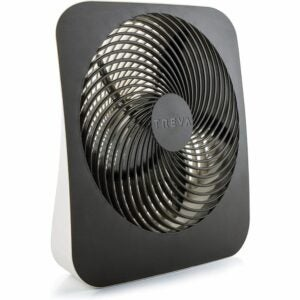 The Best Portable Fan Option: Treva 10-Inch Portable Desktop Air Circulation Fan