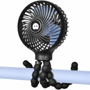 The Best Portable Fan Option: WiHoo Mini Handheld Stroller Fan