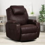 The Best Recliners For Back Pain Options: Esright Massage Recliner Chair Heated PU Leather