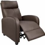 The Best Recliners For Back Pain Options: Homall Recliner Chair Padded Seat PU Leather
