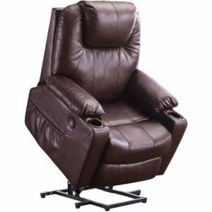The Best Recliners For Back Pain Options: Mcombo Electric Power Lift Recliner Chair