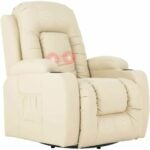 The Best Recliners For Back Pain Options: Mecor Massage Recliner Chair PU Leather Rocker