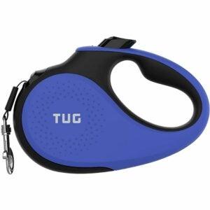 最好的可伸缩狗皮带选项:拉扣360°缠结重型可伸缩狗皮带