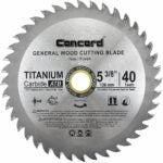 The Best Saw Blade For Cutting Laminate Flooring Options: Concord Blades WCB0538T040HP 5-3/8-Inch 40 Teeth TCT