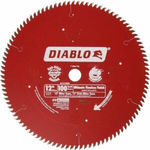 The Best Saw Blade For Cutting Laminate Flooring Options: Freud D12100X 100 Tooth Diablo Ultra Fine Circular