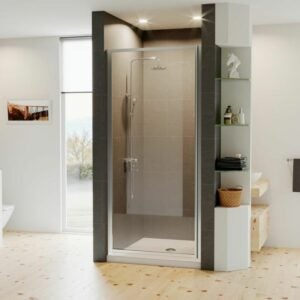 The Best Shower Doors Option: Coastal Shower Doors Legend Framed Hinged Shower Door