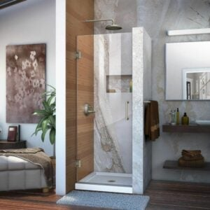 The Best Shower Doors Option: DreamLine Unidoor Frameless Hinged Shower Door