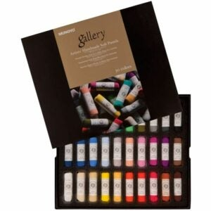 The Best Soft Pastels Options: Honsell Gallery Artists 4400030 Handmade Soft Pastels