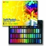The Best Soft Pastels Options: Mungyo Soft Pastel 64 Color Set Square Chalk