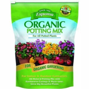 The Best Soil For Growing Vegetables Option: Espoma AP8 8-Quart Organic Potting Mix