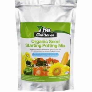 The Best Soil For Growing Vegetables Option: The Next Gardener Organic Seed Starting Soil Mix