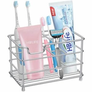 The Best Toothbrush Holder Options: HBlife Electric Toothbrush Holder, Large Stainless