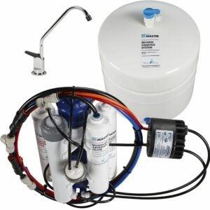 最好的下水槽水过滤器选择:家庭主人TMHP水完美RO系统